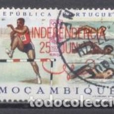 Sellos: MOZAMBIQUE, COLONIA PORTUGUESA, 1975, INDEPENDENCIA, USADO. Lote 245278300