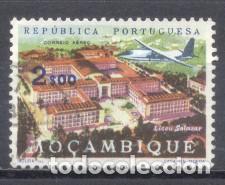 MOZAMBIQUE, COLONIA PORTUGUESA, 1962, LICEO SALAZAR, USADO (Sellos - Extranjero - África - Otros paises)