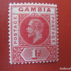 Sellos: GAMBIA, 1912, JORGE V, YVERT 67. Lote 245409200