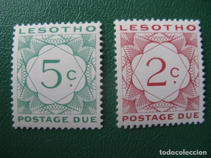LESOTHO, 1976, SELLOS DE TASA YVERT 16/7 (Sellos - Extranjero - África - Otros paises)