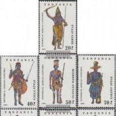 Sellos: TANZANIA 1994 IVERT 1449/55 *** COSTUMBRES AFRICANAS HISTÓRICAS. Lote 247362985
