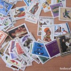Timbres: LOTE 100 SELLOS REPÚBLICA DE RUANDA. Lote 247470155