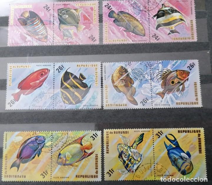Sellos: 1974.BURUNDI. SERIE AEREA Y NORMAL, *,MH (21-116) - Foto 2 - 249270735