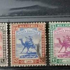 Sellos: SUDAN, 1927-1940, * ,MH (21-132 ). Lote 251081565