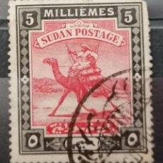 Sellos: SUDAN.1940. CORREO A CAMELLO .*,MH (21-343). Lote 252924200