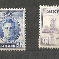 Timbres: SIERRA LEONE - 8 JUNIO 1946 - 2 VALORES. Lote 254112500