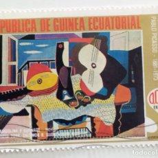 Sellos: SELLO DE GUINEA ECUATORIAL 0,05 E, 1975, PICASSO, USADO SIN SEÑAL DE FIJASELLOS. Lote 255349220