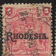 Sellos: RODESIA YVERT 2. Lote 255946385