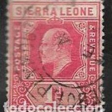 Selos: SIERRA LEONA YVERT 20. Lote 256105700
