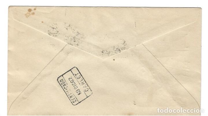 Sellos: SOBRE PRIMER DIA 1962 FERNANDO POO 210/12 DIA DEL SELLO /MILITARES - Foto 2 - 257320955