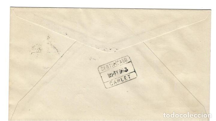 Sellos: SOBRE PRIMER DIA 1963 FERNANDO POO 213/14 AYUDA A SEVILLA - Foto 2 - 257323465
