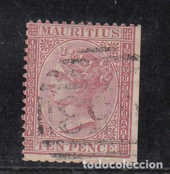 MAURICIO .41 USADA, (Sellos - Extranjero - África - Otros paises)
