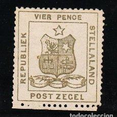 Sellos: STELLALAND REPUBLICA BOER 3 SIN GOMA,. Lote 257870690