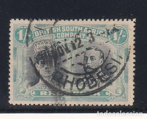 RHODESIA COMPAÑÍA BRITÁNICA 31 USADA, (Sellos - Extranjero - África - Otros paises)