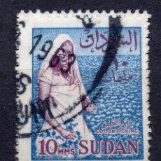 Sellos: SUDAN 1962 STAMP ,, MICHEL 180X. Lote 277114683