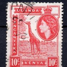 Sellos: AFRICA DEL ESTE BRITANICA ( KENYA-UGANDA-TANGANICA ), 1954 , STAMP ,, MICHEL 93. Lote 277115203
