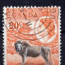 Sellos: AFRICA DEL ESTE BRITANICA ( KENYA-UGANDA-TANGANICA ), 1954 , STAMP ,, MICHEL 95. Lote 277115213