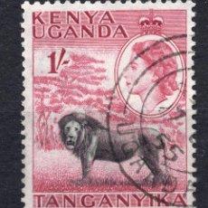 Sellos: AFRICA DEL ESTE BRITANICA ( KENYA-UGANDA-TANGANICA ), 1954 , STAMP ,, MICHEL 100. Lote 277115218