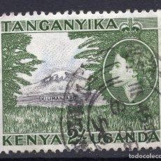 Sellos: AFRICA DEL ESTE BRITANICA ( KENYA-UGANDA-TANGANICA ), 1954 , STAMP ,, MICHEL 102. Lote 277129203