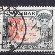 Sellos: ZANZIBAR , 1961 , STAMP MICHEL 244. Lote 261989260