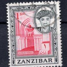 Sellos: ZANZIBAR , 1961 , STAMP MICHEL 249. Lote 261989395