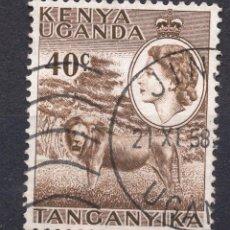 Sellos: AFRICA DEL ESTE BRITANICA ( KENYA-UGANDA-TANGANICA ), 1958 , STAMP ,, MICHEL 97. Lote 277115588