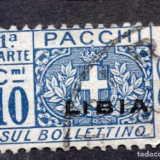Sellos: LIBIA ( ADMINISRACION ITALIANA ) , 1915 , STAMP ,, MICHEL PK 2 LEFT. Lote 261993470