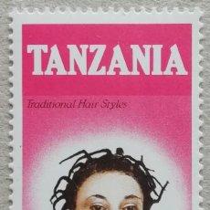 Francobolli: 1986. TANZANIA. 313. PEINADO TRADICIONAL. NUEVO.. Lote 262579180