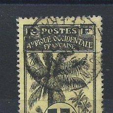 Selos: GUINÉE N°41 OBL(FU) 1906/7 - PALMIERS. Lote 262987940