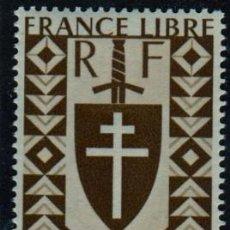 Sellos: ÁFRICA FRANCESA. CAMERÚN. CRUZ DE LORENA. NUEVO SIN CHARNELA. Lote 263621760