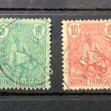 Sellos: AÑO 1904 GUINEA FRANCESA. YVERT N º 18, 21, 22 Y 28. Lote 264854614