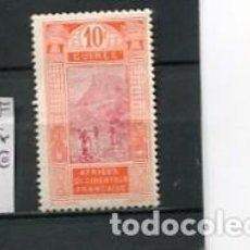 Sellos: SELLOS ANTIGUOS GUINEA FRANCESA GUINEE NUMERO 67. Lote 267847574
