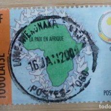 Selos: REPUBLIQUE TOGOLAISE. AÑO 2000. Lote 268868629