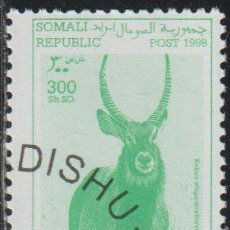 Sellos: SOMALIA 1998 COL 04/05 SELLO * FAUNA ANTILOPES WATERBUCK (KOBUS ELLIPSIPRYMNUS) CENICIENTA SOMALI. Lote 269807973