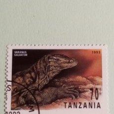 Sellos: SELLOS DINOSAURIOS TANZANIA- M9. Lote 270415398