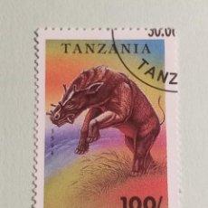Sellos: SELLOS DINOSAURIOS TANZANIA- M9. Lote 270415433