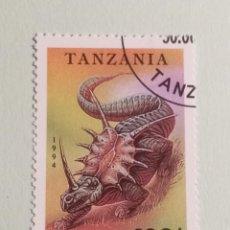 Sellos: SELLOS DINOSAURIOS TANZANIA- M9. Lote 270415453