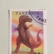 Sellos: SELLOS DINOSAURIOS TANZANIA- M9. Lote 270415468