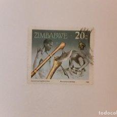 Sellos: AÑO 1990 ZIMBABWE SELLO USADO. Lote 270534678