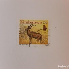 Sellos: AÑO 1990 ZIMBABWE SELLO USADO. Lote 270534718