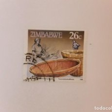 Sellos: AÑO 1990 ZIMBABWE SELLO USADO. Lote 270534738