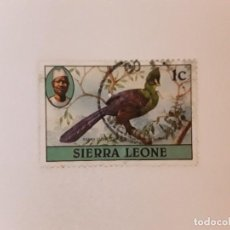 Sellos: SIERRA LEONA SELLO USADO. Lote 270536028