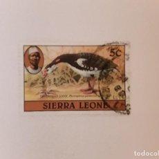 Sellos: SIERRA LEONA SELLO USADO. Lote 270536063