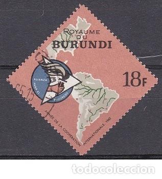 LOTE SELLO DE BURUNDI - MAPAS - (ENVIO COMBINADO COMPRA MAS) (Sellos - Extranjero - África - Otros paises)
