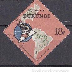 Sellos: LOTE SELLO DE BURUNDI - MAPAS - (ENVIO COMBINADO COMPRA MAS). Lote 276666613