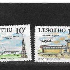 Sellos: LESOTHO Nº 169 AL 172 (**). Lote 277119463
