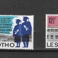 Sellos: LESOTHO Nº 127 AL 130 (**). Lote 277124813