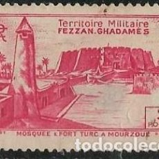Sellos: FEZZAN (LIBIA) YVERT 34. Lote 277272198