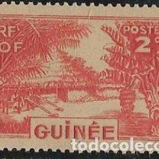 Sellos: GUINEA FRANCESA YVERT 125 NUEVO CON GOMA. Lote 277477643