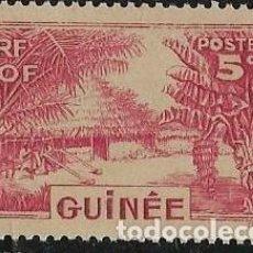 Sellos: GUINEA FRANCESA YVERT 128 NUEVO CON GOMA. Lote 277477753
